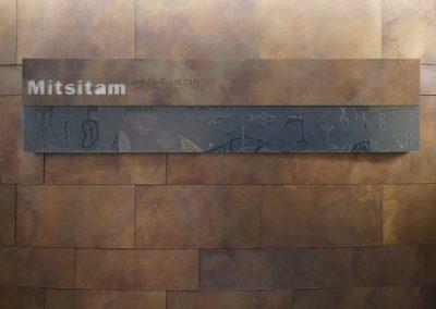 Mitsitamn Cafe sign